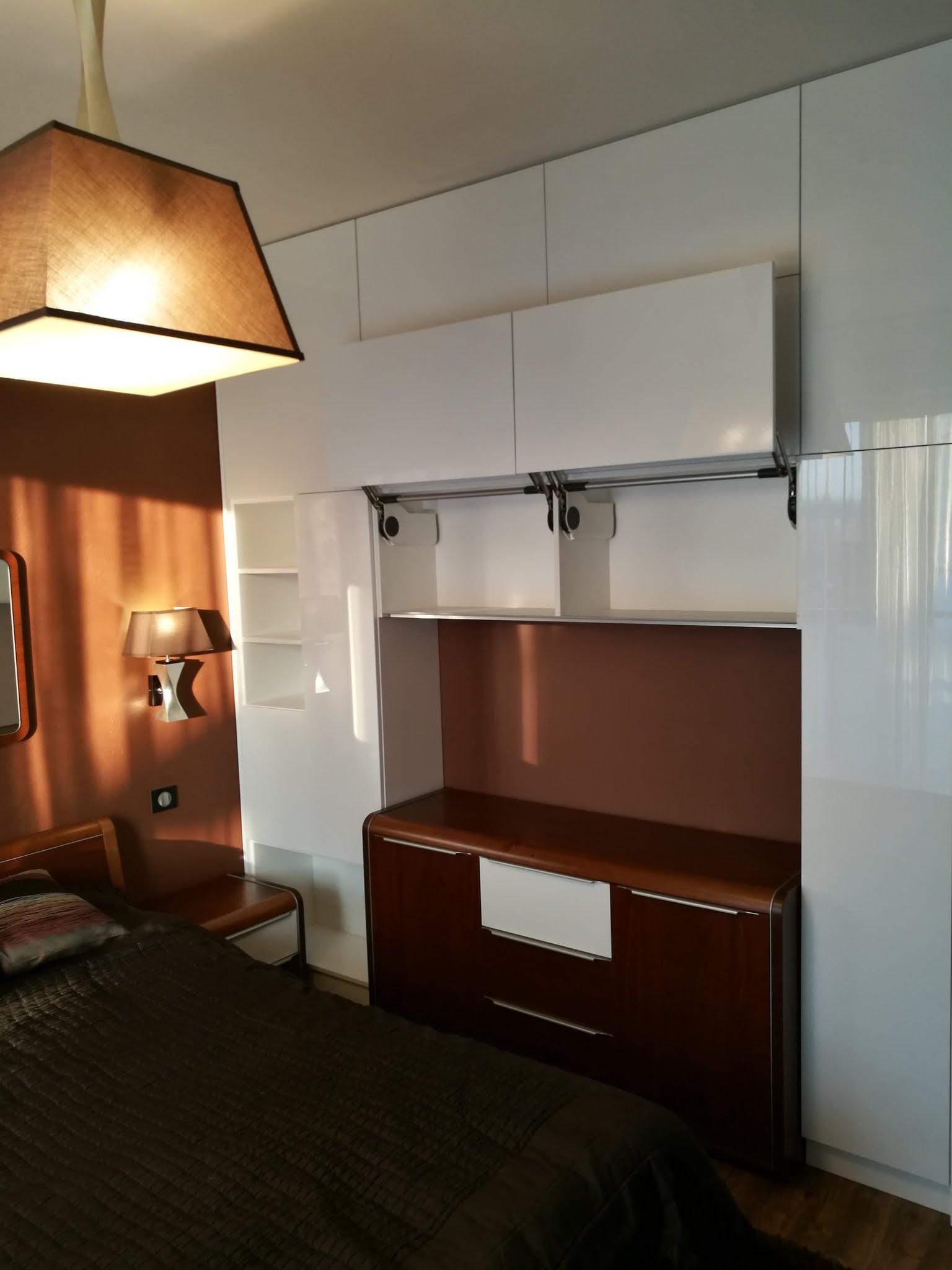 Projekt – romantyczna sypialnia