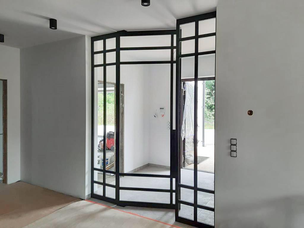 Drzwi stalowe - realizacja